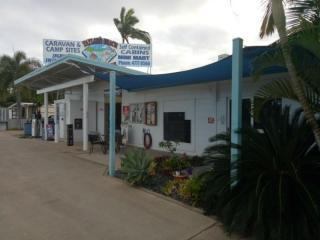 FREEHOLD SEASIDE CARAVAN PARK AND STORE IN NORTH QUEENSLAND